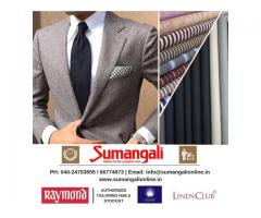 Custom tailored suits, shirts and trousers - Sumangali Fabrics