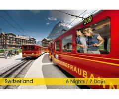 Switzerland Honeymoon Tour Packages from Delhi India