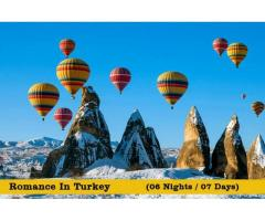 Turkey Honeymoon Tour Packages from Delhi India