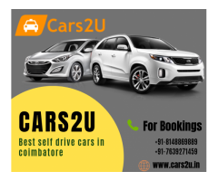Best self drive cars in coimbatore - Cars2u