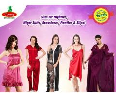 Buy 100% Branded Best Quality Cotton Nighties For Whoelsale Online