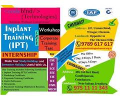 free inplant training in chennai
