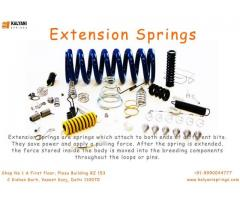 Extension Springs | Wire Forms springs - Kalyani Springs