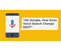 How is Voice Search being used in SEO