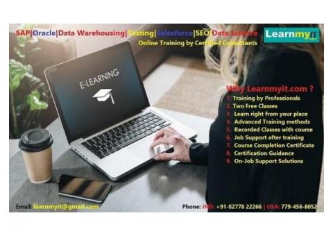 We offer the training solutions for the technologies