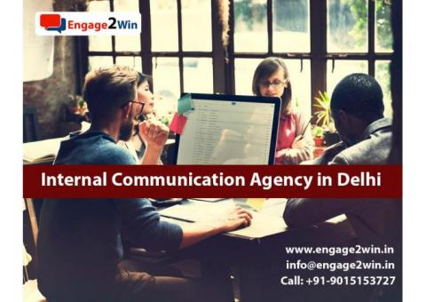 What is the Importance of good internal communication agency in Delhi?