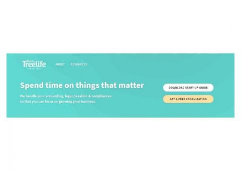 One Stop Solution for All Accounting, Taxation & Legal - Treelife Consulting