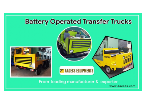 Battery Operated Trolley   Aacess Equipments