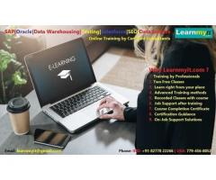 SAP, Oracle, Data Warehousing, Testing, Big data, JAVA, SEO online Training - Learnmyit.com