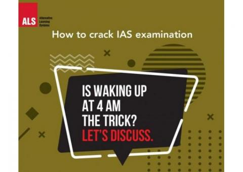 Things that helps in clearing UPSC with ALS IAS Bangalore