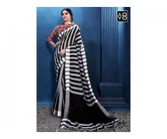 Latest Designer Linen Saree Collection - YOYO Fashion