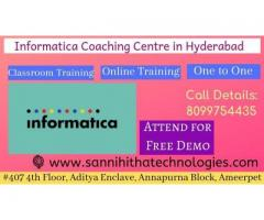 informatica Training in Hyderabad