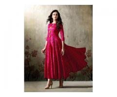 Flared kurtis manufacturers | Wholesale kurtis from Textile Infomedia