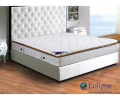 Get the Luxury mattress comfort at home with Eclipse Mattress and Bed Accessories