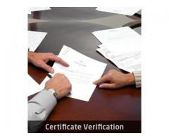 Certificate Verification | Verify Certificate Online
