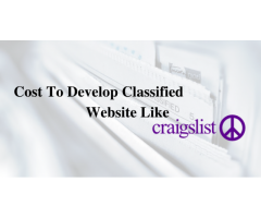 Cost To Develop A Website Like CRAIGSLIST | Develop Website Like CRAIGSLIST