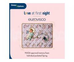 Buy Euro Visco Memory Foam mattress online | Sleep Options