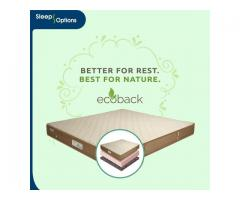 Eco Back Dual Comfort Mattress In Delhi | Sleep Options