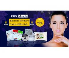 Festival season offer 70% off on beauty products