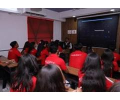 Red and White Multimedia Education Provide Advance Web Design Training Course In Surat