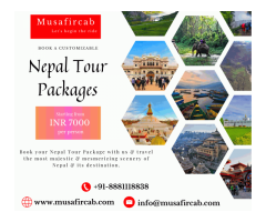 Tour Packages of Nepal | Book customizable Nepal Package | Musafircab