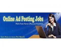 Excellent opportunity & Earn Rs.20000/- Every Month - Data Entry just simple Copy Paste Work