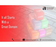 Domain Name Registration Services in Uppal Hyderabad  Annamraju