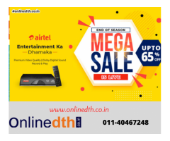 Airtel DTH New Connection Offers
