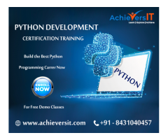 Python development in Bangalore