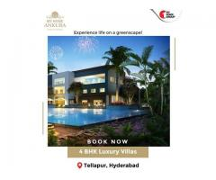 4 BHK Luxury Villas in Tellapur Hyderabad - My Home Constructions