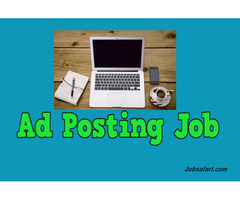 Ad Posting Job From Home