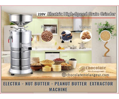Buy Nut Butter Machine – Make own Nut Butter @ Chocolatemelangeur