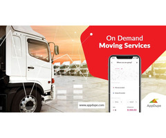 Venture the On-demand Moving services with truck booking clone app