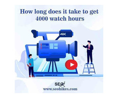 How long does it take to get 4000 watch hours