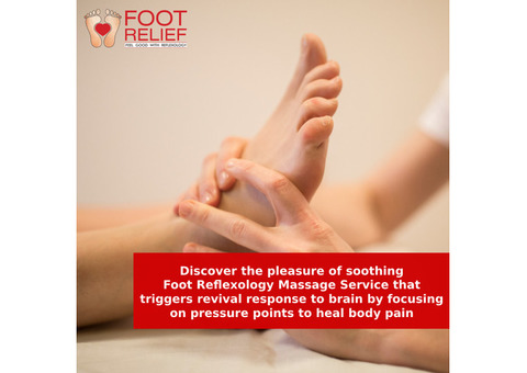 foot massage in Alwarpet