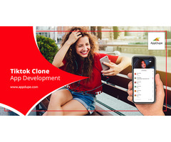 Set foot in the entertainment industry with a Tiktok clone app