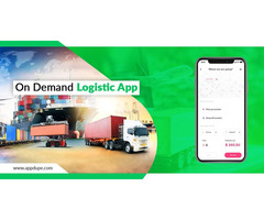 Establish your business with a high-end logistics clone app