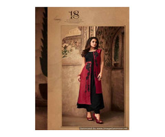 Buy Anarkali Kurtis Wholesale Online, Designer Cotton Anarkali Kurtis