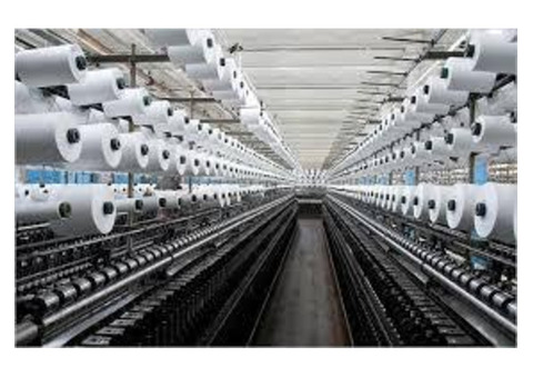 Textile Plant & Power Plant Integrated Project Opening For Freshers to 30 yrs Exp