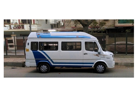 Tempo Traveller hire on Rent In Delhi By tempotravller