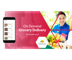 Launching a super performing grocery delivery app