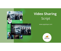 Video sharing script with enticing features