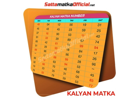 Find kalyan Fix number with Satta Matka Official