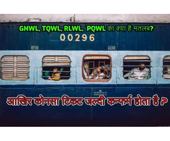 What is the meaning of GNWL, TQWL, RLWL, PQWL? - Zubaan Hindi