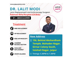 Get knee replacement surgery in Jaipur by Dr lalit Modi.