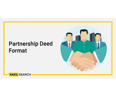What is A Partnership Deed Format?