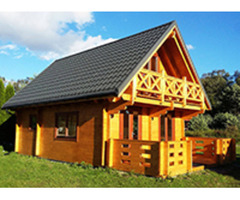 the best wooden house factory in China