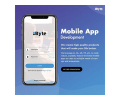 iByte Infomatics - Top Mobile App Development Company in India