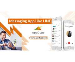 An app like Line  that made communication easier