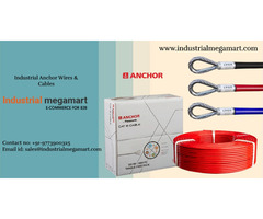 Anchor wire & cables suppliers +91-9773900325 - Industrial Megamart